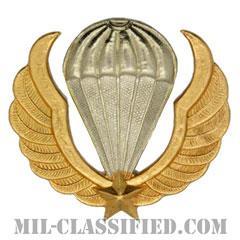 南ベトナム軍空挺ベレー章(RVN Parachutist (ND))[カラー/バッジ/レプリカ]の画像