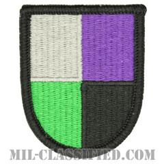 第91民事活動大隊(91st Civil Affairs Battalion)[カラー/メロウエッジ/ベレーフラッシュパッチ]の画像