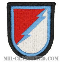 第124騎兵連隊第3大隊C中隊(C Troop, 3d Squadron, 124th Cavalry Regiment)[カラー/メロウエッジ/ベレーフラッシュパッチ]の画像