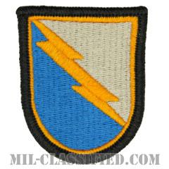 第124騎兵連隊C中隊(C Troop, 38th Cavalry Regiment)[カラー/メロウエッジ/ベレーフラッシュパッチ]の画像