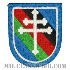 第416民事活動大隊(416th Civil Affairs Battalion)[カラー/メロウエッジ/ベレーフラッシュパッチ]の画像