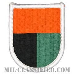 第112通信大隊(112th Signal Battalion)[カラー/メロウエッジ/ベレーフラッシュパッチ]の画像