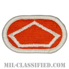 第82通信大隊(82nd Signal Battalion)[カラー/メロウエッジ/オーバルパッチ]の画像