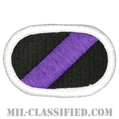 第412民事活動大隊(412th Civil Affairs Battalion)[カラー/メロウエッジ/オーバルパッチ]の画像