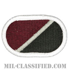 第759医療分遣隊(759th Medical Detachment)[カラー/メロウエッジ/オーバルパッチ]の画像