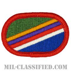 第450民事活動大隊(450th Civil Affairs Battalion)[カラー/メロウエッジ/オーバルパッチ]の画像