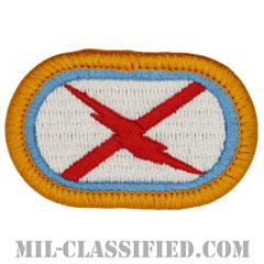 第131騎兵連隊第1大隊C中隊(C Troop, 1st Squadron, 131st Cavalry Regiment)[カラー/メロウエッジ/オーバルパッチ]の画像