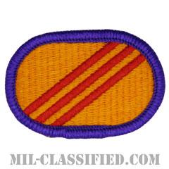 第92民事活動大隊(92nd Civil Affairs Battalion)[カラー/メロウエッジ/オーバルパッチ]の画像