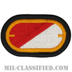 第32騎兵連隊第1大隊(1st Squadron, 32nd Cavalry Regiment)[カラー/メロウエッジ/オーバルパッチ]の画像