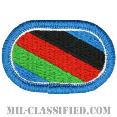 第416民事活動大隊(416th Civil Affairs Battalion)[カラー/メロウエッジ/オーバルパッチ]の画像