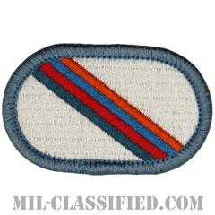 第101空挺師団第3旅団戦闘チーム特殊部隊大隊(STB, 3rd BCT, 101st Airborne Division)[カラー/メロウエッジ/オーバルパッチ]の画像