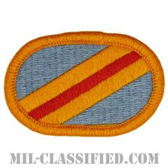 第117騎兵連隊第5大隊長距離監視分遣隊(LRSD, 5th Squadron, 117th Cavalry Regiment)[カラー/メロウエッジ/オーバルパッチ]の画像