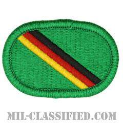 欧州特殊部隊分遣隊(Special Forces Detachment, Europe)[カラー/メロウエッジ/オーバルパッチ]の画像