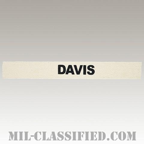 DAVIS [カラー/ネームテープ/プリントタイプ/パッチ/レプリカ]の画像