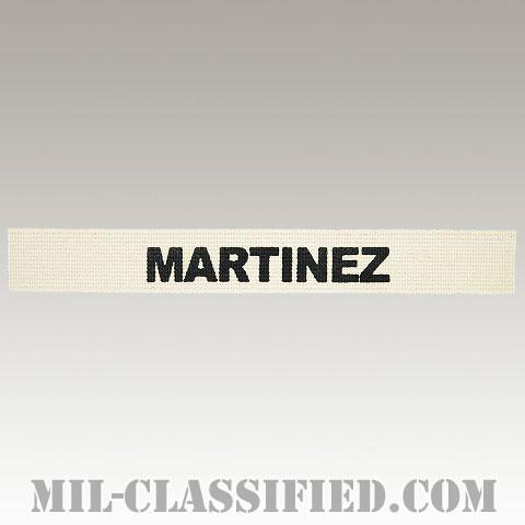 MARTINEZ [カラー/ネームテープ/プリントタイプ/パッチ/レプリカ]の画像