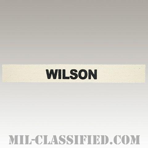 WILSON [カラー/ネームテープ/プリントタイプ/パッチ/レプリカ]の画像