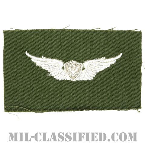 航空機搭乗員章 (ベーシック・エアクルー)(Army Aviation Badge (Aircrew), Basic)[カラー/パッチ]の画像
