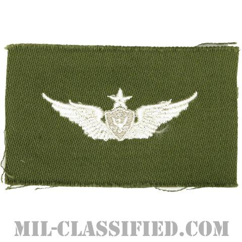 航空機搭乗員章 (シニア・エアクルー)(Army Aviation Badge (Aircrew), Senior)[カラー/パッチ]の画像