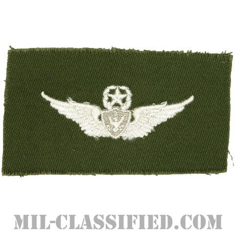 航空機搭乗員章 (マスター・エアクルー)(Army Aviation Badge (Aircrew), Master)[カラー/パッチ]の画像