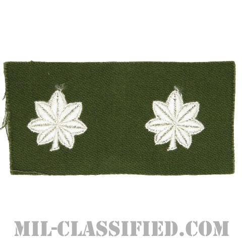 中佐(Lieutenant Colonel (LTC))[カラー/階級章/パッチ/ペア(2枚1組)]の画像