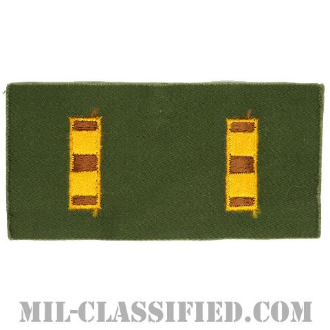 准尉長(Chief Warrant Officer 2 (CW2))[カラー/階級章(1956-1972)/パッチ/ペア(2枚1組)]の画像