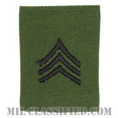 軍曹(Sergeant (SGT))[サブデュード/ゴアテックスパーカー用スライドオン階級章]の画像