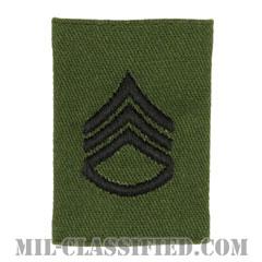 二等軍曹(Staff Sergeant (SSG))[サブデュード/ゴアテックスパーカー用スライドオン階級章]の画像
