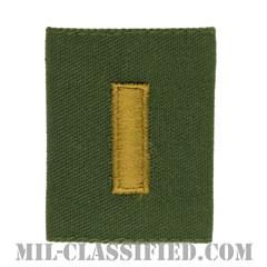 少尉(Second Lieutenant (2LT))[サブデュード/ゴアテックスパーカー用スライドオン階級章]の画像