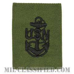 上等兵曹(Chief Petty Officer)[サブデュード/ゴアテックスパーカー用スライドオン海軍階級章]の画像