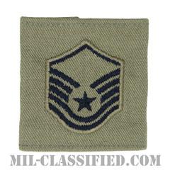 曹長(Master Sergeant)[ABU/ゴアテックスパーカー用スライドオン空軍階級章]の画像