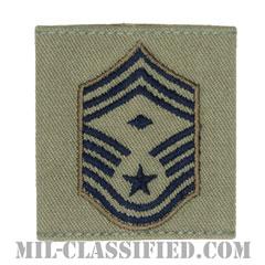 先任最上級曹長(First Sergeant (E-9))[ABU/ゴアテックスパーカー用スライドオン空軍階級章]の画像