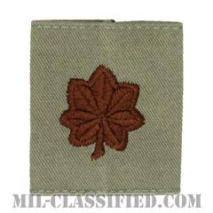 少佐(Major (MAJ))[ABU/ゴアテックスパーカー用スライドオン空軍階級章]の画像