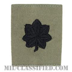 中佐(Lieutenant Colonel (LTC))[ABU/ゴアテックスパーカー用スライドオン空軍階級章]の画像