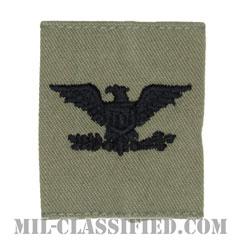 大佐(Colonel (COL))[ABU/ゴアテックスパーカー用スライドオン空軍階級章]の画像