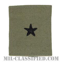 准将(Brigadier General (BG))[ABU/ゴアテックスパーカー用スライドオン空軍階級章]の画像