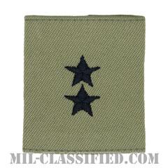 少将(Major General (MG))[ABU/ゴアテックスパーカー用スライドオン空軍階級章]の画像