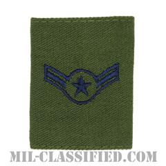 二等空兵(Airman)[サブデュード/ゴアテックスパーカー用スライドオン空軍階級章]の画像