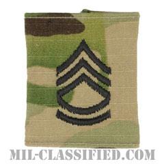 一等軍曹(Sergeant First Class (SFC))[OCP/ゴアテックスパーカー用スライドオン階級章]の画像