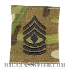 先任曹長(First Sergeant (1SG))[OCP/ゴアテックスパーカー用スライドオン階級章]の画像
