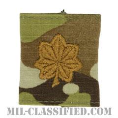 少佐(Major (MAJ))[OCP/ゴアテックスパーカー用スライドオン階級章]の画像