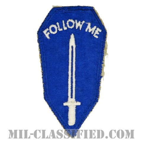陸軍歩兵学校(Army Infantry School)[カラー/カットエッジ/パッチ/中古1点物]の画像