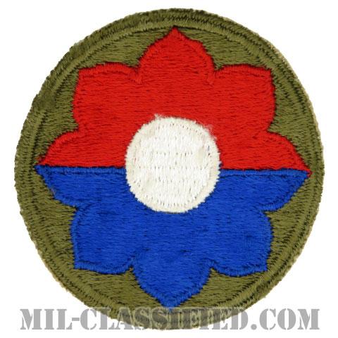 第9歩兵師団(9th Infantry Division)[カラー/カットエッジ/パッチ/中古1点物]の画像