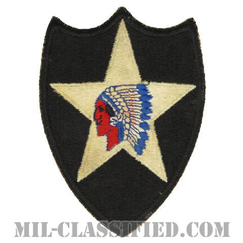 第2歩兵師団(2nd Infantry Division)[カラー/カットエッジ/パッチ/中古1点物]の画像