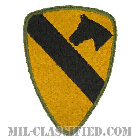 第1騎兵師団(1st Cavalry Division)[カラー/カットエッジ/パッチ/中古1点物]の画像