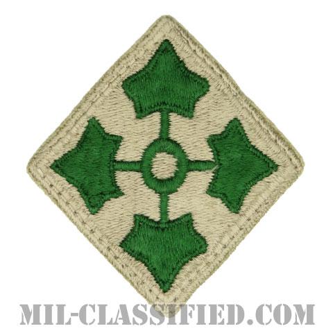 第4歩兵師団(4th Infantry Division)[カラー/カットエッジ/パッチ/中古1点物]の画像