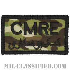 CMRE(アメリカ中央軍資材回収部隊)ブラック縁(CENTCOM Materiel Recovery Element)[OCP/メロウエッジ/ベルクロ付パッチ]の画像