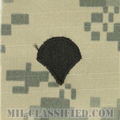 特技兵(Specialist (SPC))[UCP(ACU)/階級章/キャップ用縫い付けパッチ]の画像