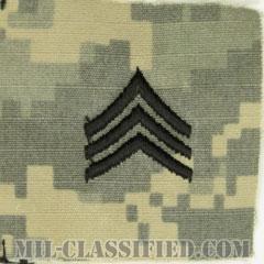 軍曹(Sergeant (SGT))[UCP(ACU)/階級章/キャップ用縫い付けパッチ]の画像