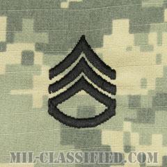 二等軍曹(Staff Sergeant (SSG))[UCP(ACU)/階級章/キャップ用縫い付けパッチ]の画像