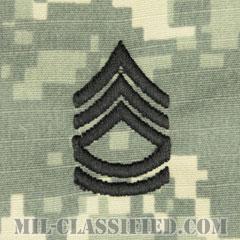 一等軍曹(Sergeant First Class (SFC))[UCP(ACU)/階級章/キャップ用縫い付けパッチ]の画像
